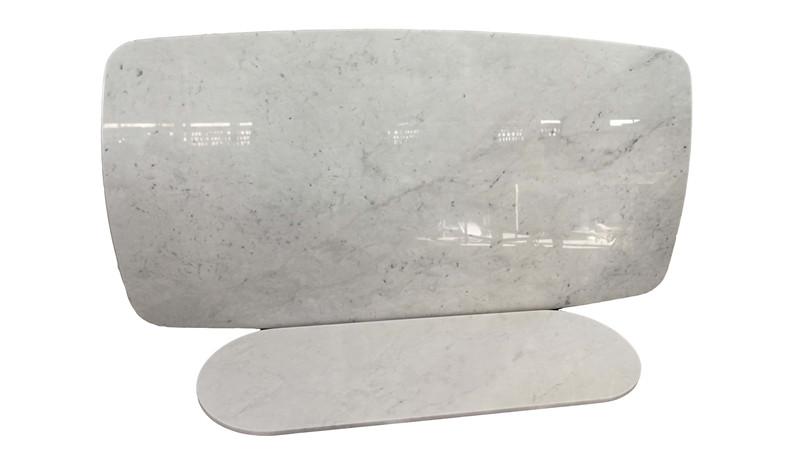 HMJ010 细花白大理石咖啡桌