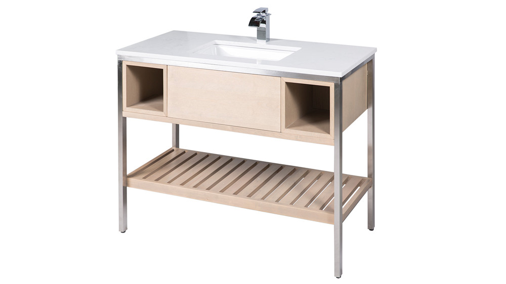 NSHB061 细花白浴室柜