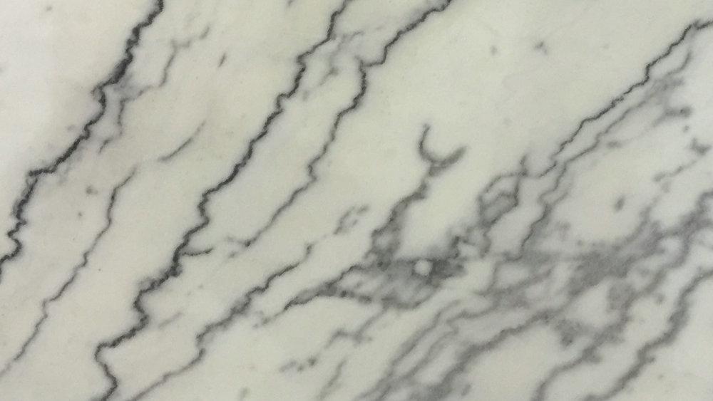 Landscape White Marble Bathroom