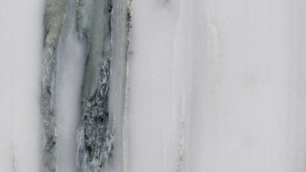 Wavy White Marble Bathroom Coun