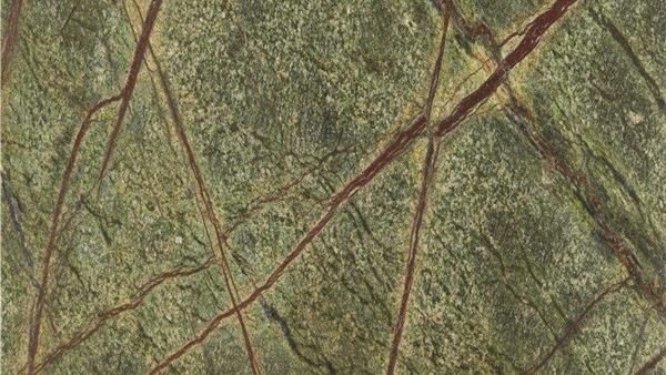 Forest Rain Green Marble Bathro