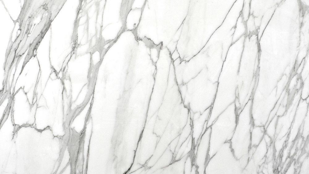 Calacatta White Marble Bathroom