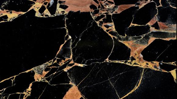 Athens Gold Flower Marble Bathr