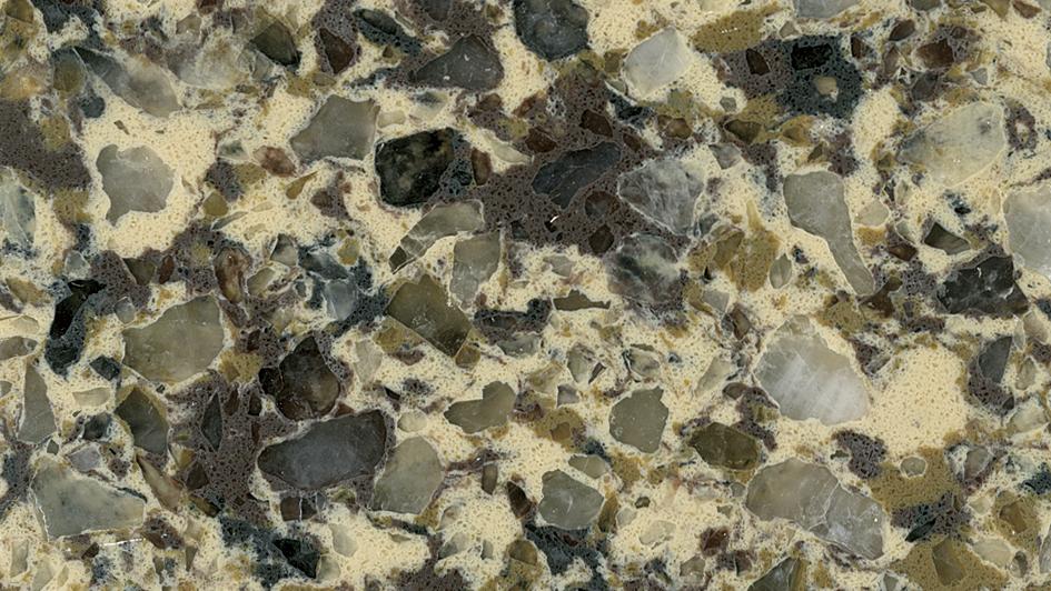Fosisil Brown Quartz Countertop